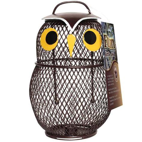 chapelwood fun wild bird feeder  owl  sale fast