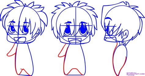How To Draw Chibi Anime, Step By Step, Chibis, Draw Chibi