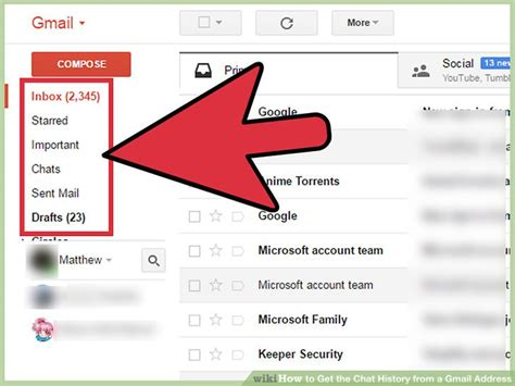 Mobile Gmail Chat by How To Get The Chat History From A Gmail Address 12 Steps
