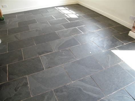 Black Gloss Kitchen Ideas - black slate kitchen floor stripping cleaning and sealing in ridley nr tarporley cheshire tile