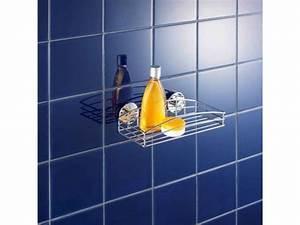 Fixer Étagère Sans Percer : tag re murale fixer sans percer vente de baignoire et douche hydromassantes conforama ~ Melissatoandfro.com Idées de Décoration