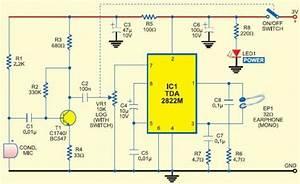 Hearing Aid Circuit Diagrams