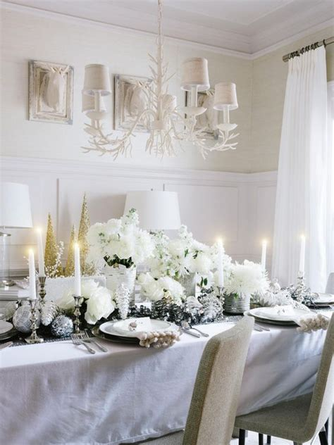 white winter tablescapes  christmas shelterness