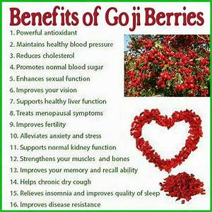 1000+ images about Superfoods ~ Goji Berries on Pinterest ...