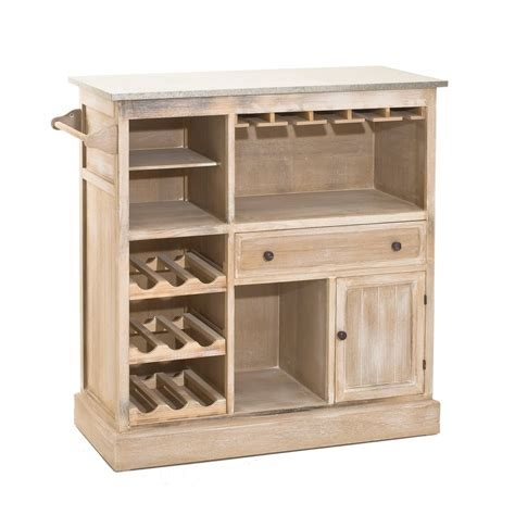 d馮raisser meubles cuisine bois vernis meuble cuisine range bouteille collection et caisson