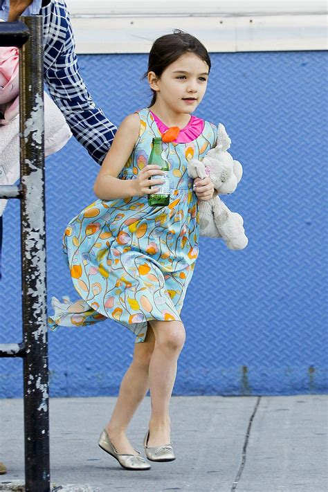 Suri Cruise In Katie Holmes And Suri Cruise At Chelsea