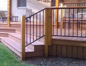 Diy Metal Deck Railing — Jbeedesigns Outdoor : Best Metal