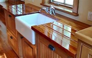 Custom Wood Countertops - Cutout and Jointing Options