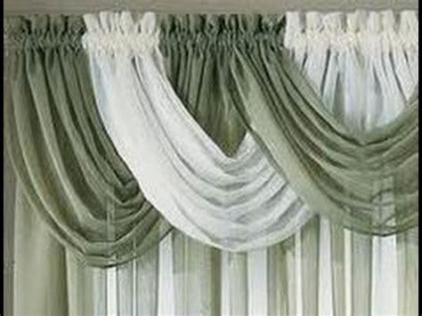 como hacer cortinas  cenefa youtube