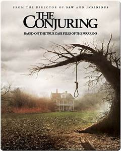 The Conjuring Zavvi Exclusive Limited Edition Steelbook