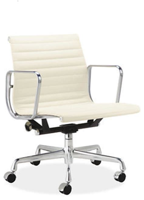 eames aluminum management leather chair room and