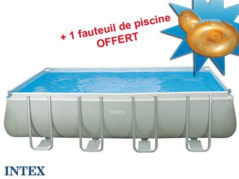 Intex Tubulaire Rectangulaire 457x274x122m