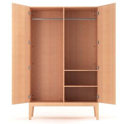 Standing Wardrobe by Free Standing Modern Wardrobe In Oak Buy