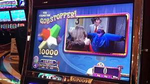 Willy Wonka Slot Machine Bonus - Gobstopper Pick - YouTube