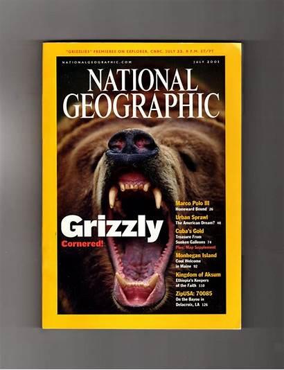 Geographic National Magazine July Island 2001 Treasure