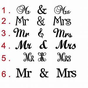 mr mrs sign connected letters wedding decor wooden With mr and mrs letters for wedding