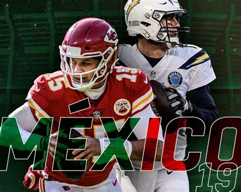 oficial chiefs  chargers en mexico