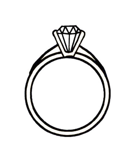Ring Clipart Engagement Ring Clipart Clipartion