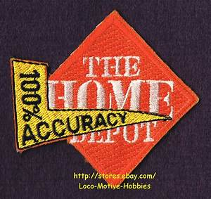 LMH PATCH Badge HOME DEPOT Cashier 100% ACCURACY Uniform ...