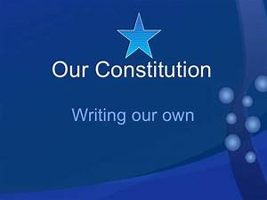 The Constitution Of The 8th Grade