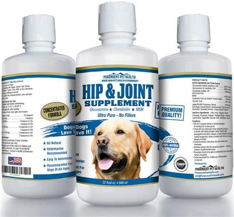 liquid glucosamine  large dogs products  tagged