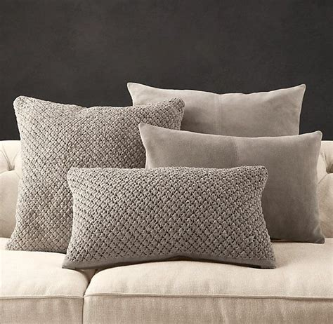 Restoration Hardware Living Room Pillows restoration hardware is running a sale on these suede