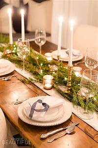 table decorations for christmas 15 Christmas Dinner Table Decoration Ideas For Your Festive Feast - The LuxPad