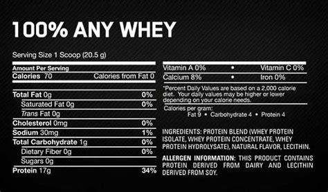 Amazon.com: Optimum Nutrition 100% Any Whey Instantized
