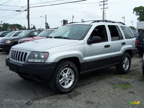 silver jeep grand cherokee 2004 2004 jeep grand cherokee laredo 4x4 in bright silver