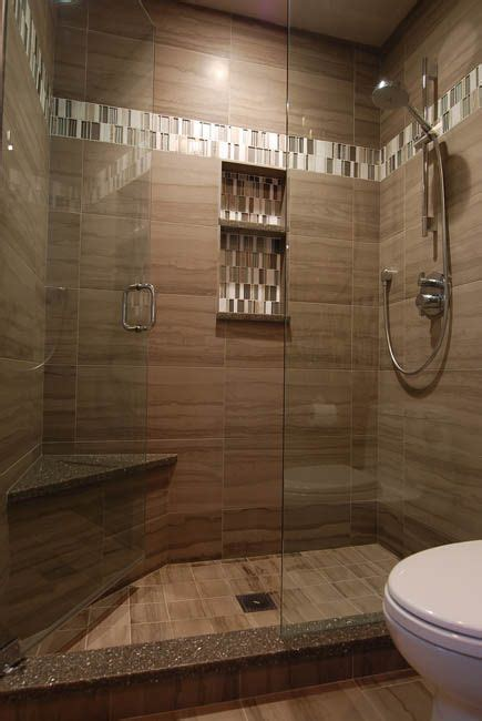 porcelain athens gray tile  shower wall    laid