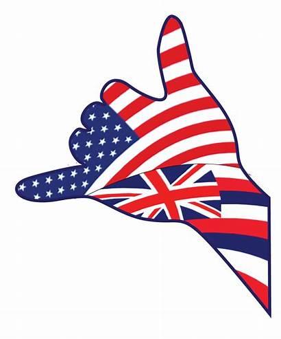 Hawaiian Graphic Flag Visaya Graphics Country