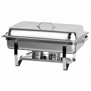 Full Size Chafing Dish With Stainless Steel Pan and Lift ...