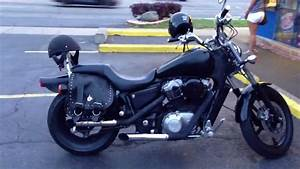 1992 Honda Shadow Vt 1100 Black On Black