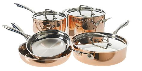 upgrade  cuisinarts copper tri ply cookware     todays amazons gold box totoys