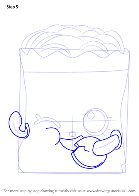 learn   draw crispy chip  shopkins shopkins
