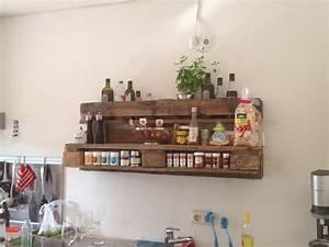 Küche Aus Paletten : gew rzregal im euro paletten style selbstgemacht pinterest ~ Eleganceandgraceweddings.com Haus und Dekorationen