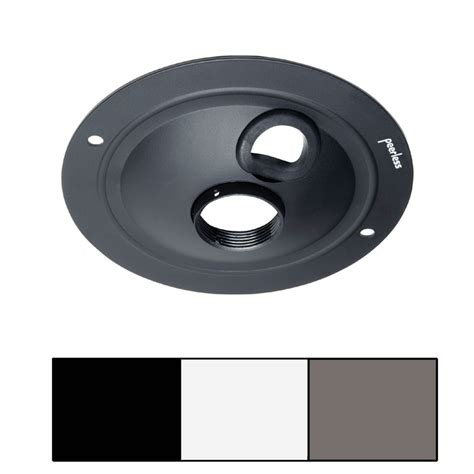 peerless acc570 acc570w acc570s round ceiling plate
