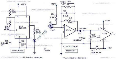 automatic room light control upon human presence ir hareket algılama devresi devre yapımı elektronik