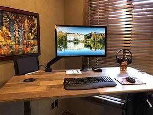 Standing, Desk, Setup, Desksetup