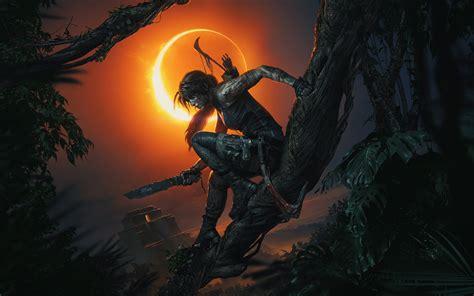 wallpaper shadow   tomb raider