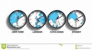 Horaires New York : fuseaux horaires de carte du monde photos libres de droits image 28951708 ~ Medecine-chirurgie-esthetiques.com Avis de Voitures