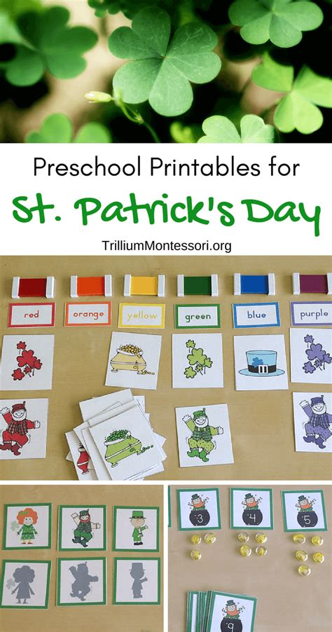 preschool printables for march and st s day 478 | Preschool Printables for St Patricks Day