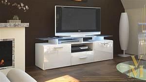 Tv Möbel Hochglanz Weiß : tv board lowboard sideboard tisch rack m bel almada wei hochglanz naturt ne ebay ~ Bigdaddyawards.com Haus und Dekorationen