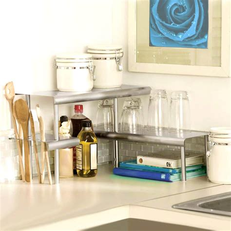 kitchen shelf organizer ideas 34 best kitchen countertop organizing ideas for 2018 5599