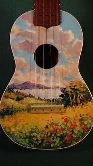 Hawaiian Painted Soprano – Hand Painted Hawaiian scene in ...