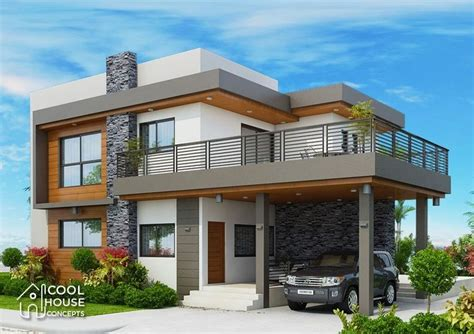 Home design plan 19x14m with 4 bedrooms Four bedroom