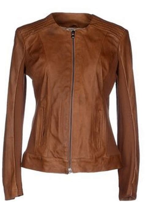 kaos chanel dreamy copy dobrev s brown leather jacket from quot the