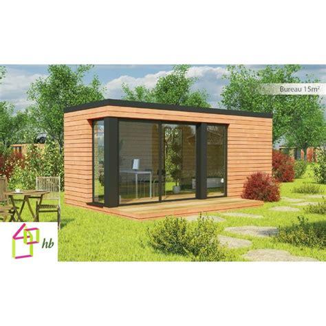 bureau ossature bois maison jardin habitable abri bureau accueil design et
