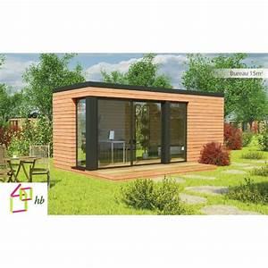 Bureau Bois Pas Cher : maison jardin habitable abri bureau accueil design et ~ Teatrodelosmanantiales.com Idées de Décoration