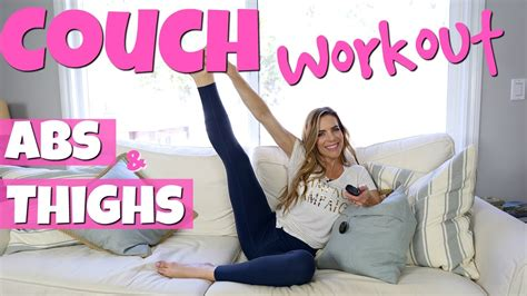 Lazy Girl Seated Couch Workout
